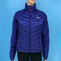 The North Face 800 Summit Series Pertex Women's Blue Quilted Down Jacket Sz Xs Photo