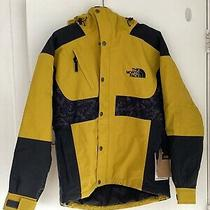 The North Face 94 Rage Waterproof Ski Snowboard Jacket Yellow Black Medium M Photo