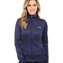 The North Face Agave Full Zip Up Fleece Jacket Size Xs Purple Blue New No Tags Photo