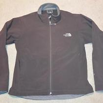 The North Face Apex Bionic Womens Softshell Jacket Large Brown Photo