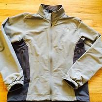 The North Face Apex Men's Softshell Jacket Large L Gray Photo
