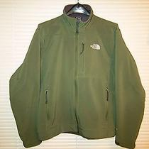 The North Face Apex Softshell Jacket Green M Photo