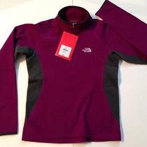 The North Face Authentic Windproof Water Repellent Purple Harmattan Fleece S Photo