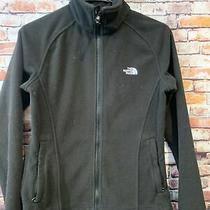 The North Face Black Fleece  Full Zip Jacket Womens Size Small Photo