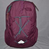 The North Face Bookbag Backpack Women W Jester Purple Blue Brand New Authentic Photo