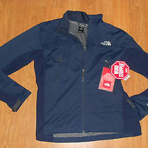The North Face Cipher Softshell Jacket Mens Cosmic Blue New Photo