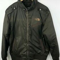 The North Face Cryptic Jacket Mens Medium Sping Fall Brown Photo