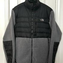 The North Face Denali 550 Down Fleece Jacket Polartec Black/grey Men Size Xxl Photo