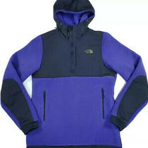 The North Face Denali Anorak Fleece Hoodie Purple Size Xs Photo