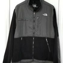 The North Face Denali Black Plaid Fleece Jacket Men Size Xxl  Photo
