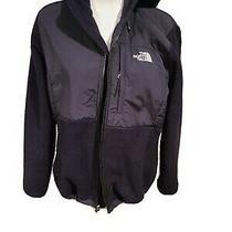 The North Face Denali Fleece  Zip  Up Jacket Size Medium Black  Photo