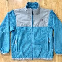 The North Face Denali Fuzzy Fleece Full Zip Jacket Sz L Youth/juniors Photo