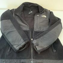 The North Face Denali Hooded Full-Zip Fleece Black Jacket Women's Size Medium  Photo