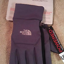The North Face Etip Womens Touch Screen Gloves Size Medium Nwt Photo