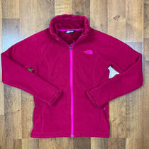 The North Face Fleece Jacket Womens Xs Pink Full Zip Sherpa Lined  Photo