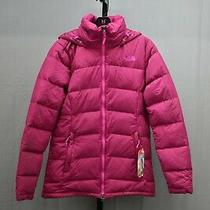 The North Face Fossil Ridge Parka Down Coat Women's Size S Plum New Photo