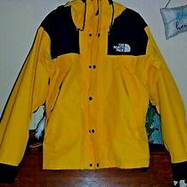 The North Face Gore-Tex Mountain Jacket Womens Small Yellow Will Fit Medium M Photo