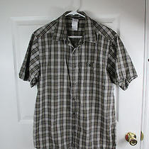 The North Face Hiking Outdoor Shirt Sz L Mens Plaid Casual  Photo