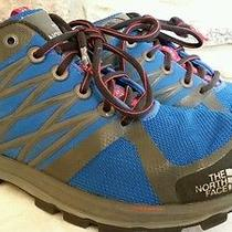 The North Face Hyvent Cradle Sneakers Shoes 7 Mens Blue Vibram Hiking Athletic  Photo