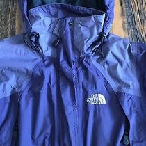 The North Face Hyvent Full Zip Hooded Jacket Windproof Purple Xs Extra Small Photo