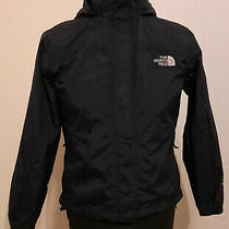 The North Face Ladies Coat Size Xs Black Very Good Condition Photo