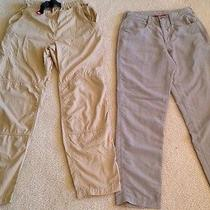 The North Face M/6 Womens Outdoor Nylon Outdoor Pants Two Pair Photo