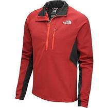 The North Face Men's Bernadino 1/4-Zip Fleece Biking Red  A7cfd5q X-Large Photo
