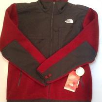 The North Face Men's Denali Jacket in Medium Biking Red / Asphalt Grey Photo