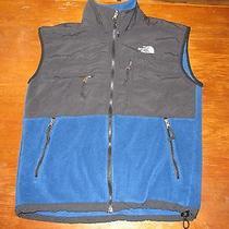 The North Face Men's Denali Vest     Blue/black    Medium    Free Shipping Photo