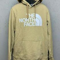 The North Face Men's Half Dome Pullover Hoodie - Large - Tan Photo