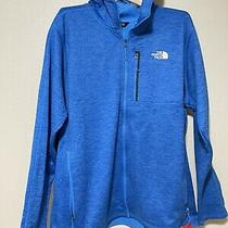 The North Face Mens Jacket Full Zip Hoodie Sz Xxl M Cynlnds Hdie Photo