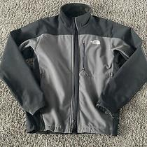 The North Face Mens Tnf Apex Bionic Fleece Lined Soft Shell Jacket Size Medium Photo