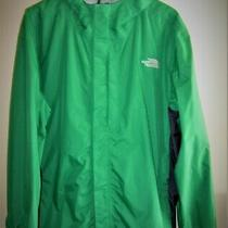 The North Face Men's Waterproof/breathable Rain Jacket 2xl Tall Green Color Photo