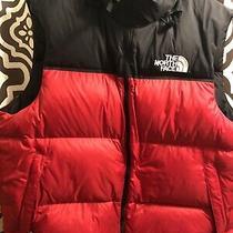 The North Face Mens 1996 Retro Nuptse Vest 700 Down Red Xl New Nwt Ski Snowboard Photo