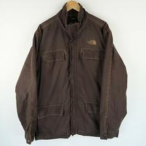 The North Face Mens Adventure Series Jacket Brown Sz Xl (E3566) Photo