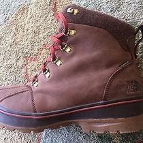 The North Face Mens Ballard Brown Waterproof Duck Boots Cvx0 Shoes Size 10.5 M Photo