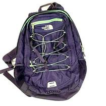 The North Face Mens Blue Green Nylon Borealis Backpack Bags Size Os Photo