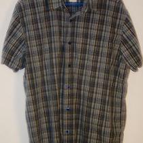 The North Face Mens Short Sleeve Button Front Outdoor Shirt Xl Photo