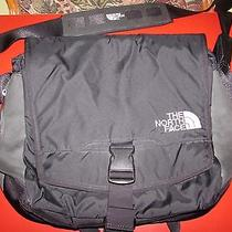 The North Face Messenger Laptop Computer Organizer Shoulder Bag Photo
