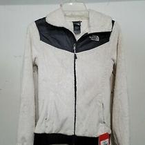 The North Face Oso Hooded/hoodie Womens Xs/tp Fleece Coat/jacket White and Black Photo