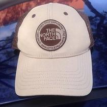 The North Face Outdoor Trucker Hat New Without Tags Tan Unisex Photo