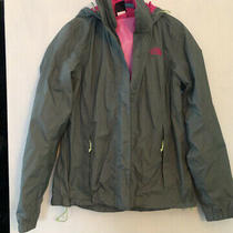 The North Face Rain Jacket Dryvent Womens Small Pale Green Photo