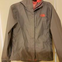 The North Face Rain Jacket Waterproof Jacket Gray Womens Size Xs  Photo