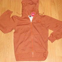 The North Face Rearview Full Zip Hoodie Men's Medium Bombay Orange Heather New Photo