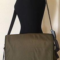 The North Face Sepal Messenger Large Laptop Bag Ballistic Nylon  Green New Photo