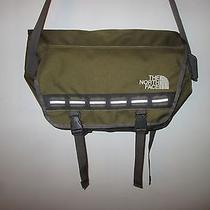 The North Face Shifty Olive Computer Laptop Messenger Organizer Shoulder Bag   Photo