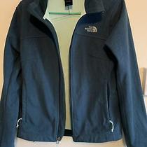 The North Face Size S/p Womens Jacket Pine Green Color Long Sleeve Full Zip Photo