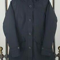 The North Face Size Xs Womens Tremaya 550 Down Filled Jacket Parka 419 Black Photo