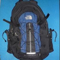 The North Face Sling Shot Book Bag Black/blue Vintage Steep Tech Rain Water Nyc Photo