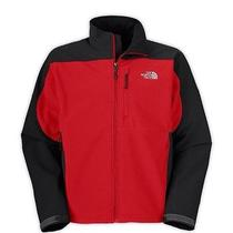 The North Face Softshell Men's Jacket Red and Black  Photo